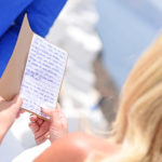 Santorini Wedding Vows reading