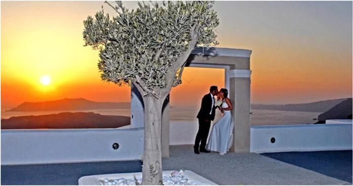 Sunset Dreams Santorini Wedding Package Civil Wedding