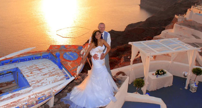 Saint Irene Santorini Wedding Venue