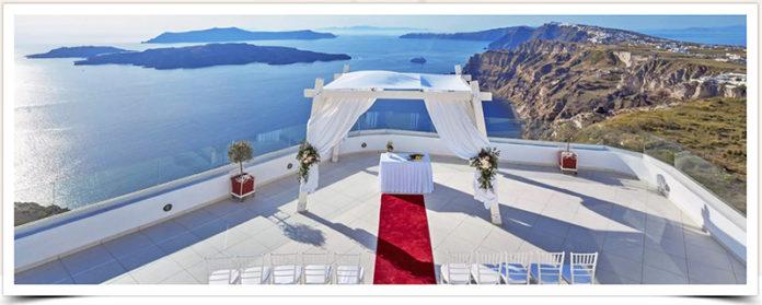 Santo Winery Santorini Wedding Venue