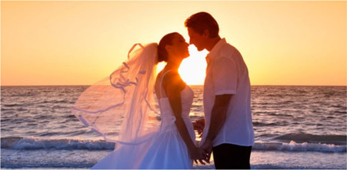 Tristan & Izolde Santorini Symbolic Wedding Package